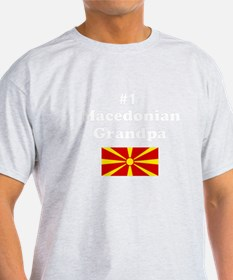 #1 Macedonian Grandpa T-Shirt