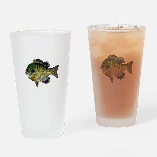 BLUEGILL Drinking Glass