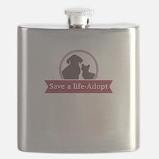 save a life - adopt Flask