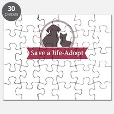 save a life - adopt Puzzle