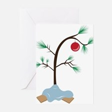 Small Tree Greeting Cards