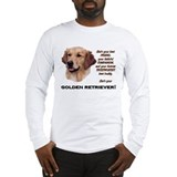 Golden retriever Long Sleeve T-shirts