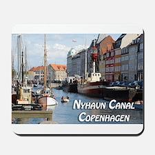 Nyhavn Canal Copenhagen Denmark Mousepad