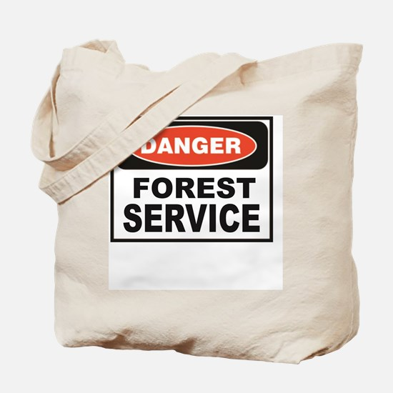 Cute Us forest service Tote Bag