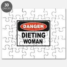 dieting woman fun Puzzle