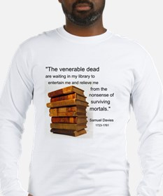 Venerable Dead Books Long Sleeve T-Shirt