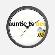 Auntie To Bee Wall Clock
