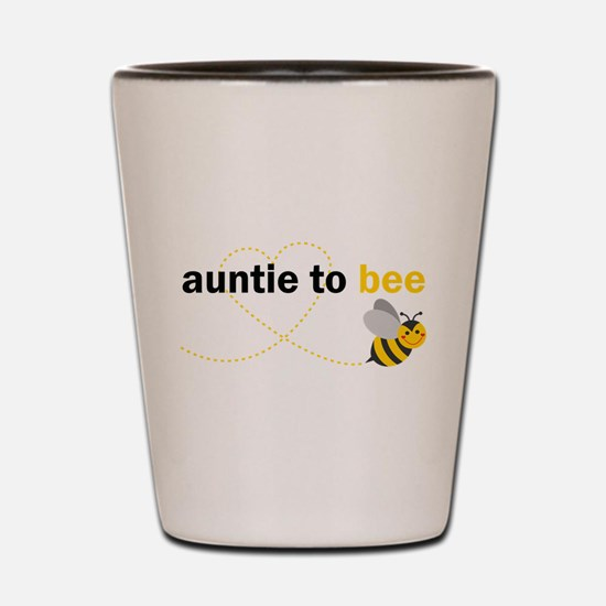 Auntie To Bee Shot Glass