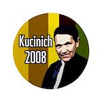 Kucinich 2008 Colorful Big Button