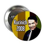 Ten Edgy Kucinich 2008 Buttons