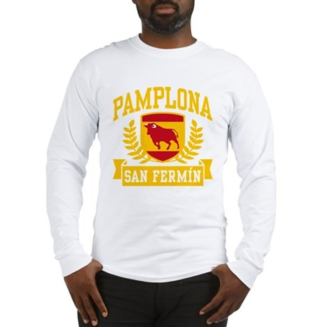 Pamplona San Fermin Long Sleeve T-Shirt