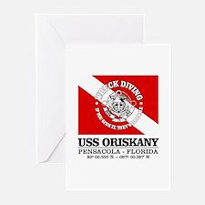 USS Oriskany Greeting Cards