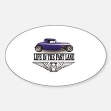 life in the fast lane blue ride Decal