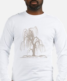 Weeping Willow Tree Long Sleeve T-Shirt