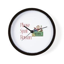 Please Spoil Rowan Wall Clock