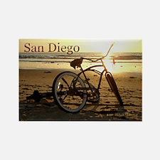 San Diego Artsie Bike Rectangle Magnet (10 pack)