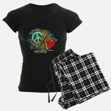 LGBTQIA-PLE-blk Pajamas