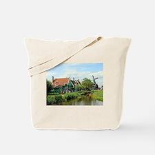 Dutch windmill village, Holland Tote Bag