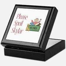 Please Spoil Skylar Keepsake Box