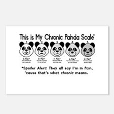 My Chronic Painda Scale Postcards (Package of 8)