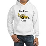 Backhoe Girl Hooded Sweatshirt