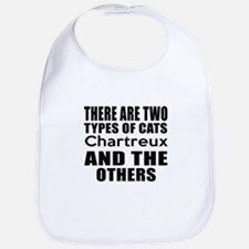 There Are Two Types Of Chartreux Cats Designs Bib
