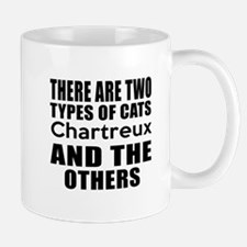 There Are Two Types Of Chartreux Cats D Small Small Mug