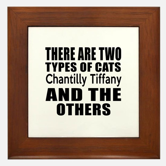 There Are Two Types Of Chantilly Tiffa Framed Tile