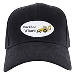 Backhoe Wizard Black Cap