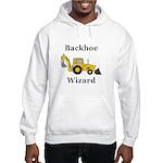 Backhoe Wizard Hooded Sweatshirt