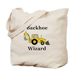 Backhoe Wizard Tote Bag