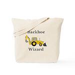 Backhoe Wizard Tote Bag