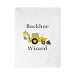 Backhoe Wizard Twin Duvet