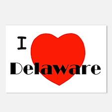 I love Delaware! Postcards (Package of 8)