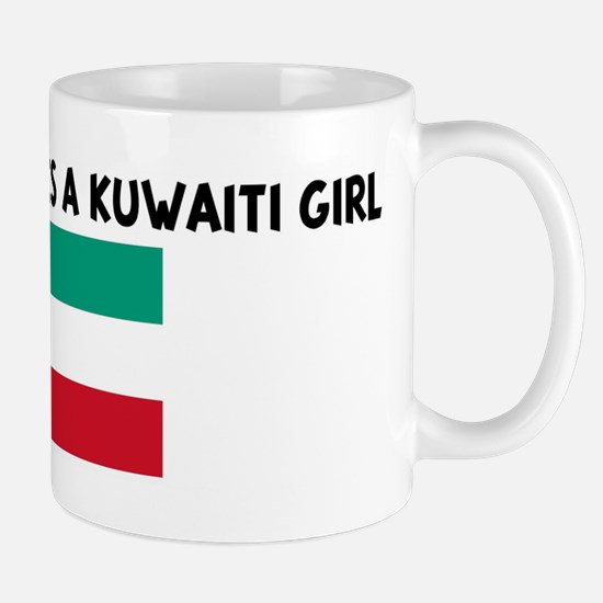 EVERYBODY LOVES A KUWAITI GIR Mug