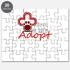 save a life adopt Puzzle