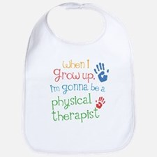 physical_therapist_future_colored Baby Bib