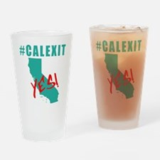 #CALEXIT YES! California Secede Drinking Glass