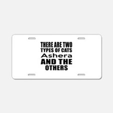 There Are Two Types Of Ashe Aluminum License Plate