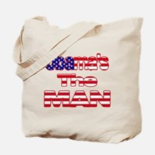Cute Obama girl Tote Bag