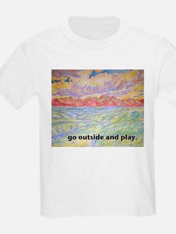 """""""Go Play"""" T-Shirt"""