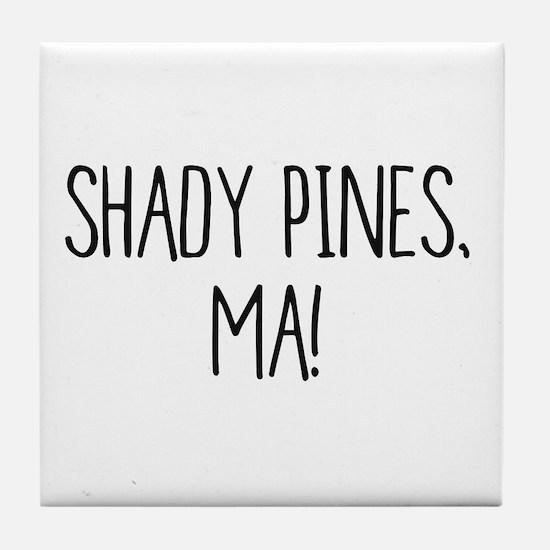 Sophia and Dorothy - Shady Pines, Ma Tile Coaster