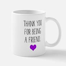 Golden Girls - Thank you for being a friend w Mugs