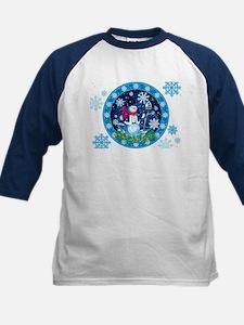 Wonderland Snowman Baseball Jersey