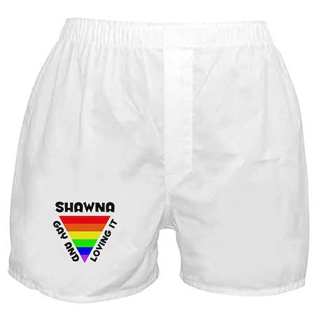 Shawna Gay Pride (#006) Boxer Shorts