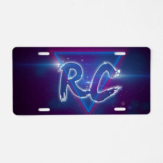 Rc Aluminum License Plate