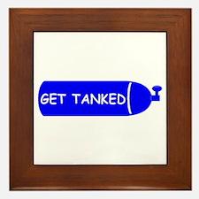 Get Tanked Framed Tile