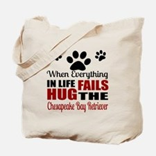 Hug The Chesapeake Bay Retriever Tote Bag