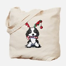 KiniArt Westie Rabbit Tote Bag