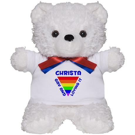 Christa Gay Pride (#005) Teddy Bear